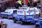 Police, Emergency Vehicles, 1993 World Trade Center bombing, February 26, 1993