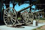 Cannon, Wheels, Artillery, gun