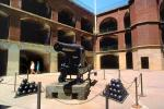 Rodman Gun, Cannon, Gun, Cannon Balls, civil war fort, Fort Point, Artillery, cannonball
