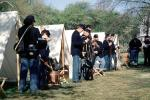 infantry, soldiers, rifles, firepower, Civil War, the North, blue coats, tents