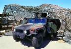HumVee surrounded by a camouflage tent, Travis Air Force Base, California, MYAV02P14_10