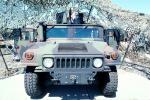 HumVee, Travis Air Force Base, California, head-on