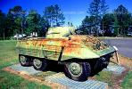 A12 Recon, Tank, Mobile Gun, ww II, world war two, wheeled vehicle, Camp Shelby, Mississippi, MYAV03P01_14