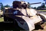 Sherman Tank, ww II, world war two, tracked vehicle, Camp Shelby, Mississippi, MYAV03P01_17