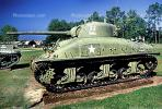 Sherman Tank, ww II, world war two, tracked vehicle, Camp Shelby, Mississippi, MYAV03P01_18