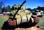 Sherman Tank, ww II, world war two, tracked vehicle, Camp Shelby, Mississippi, MYAV03P01_19