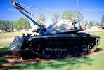 Tank, Crane, ww II, world war two, tracked vehicle, Camp Shelby, Mississippi, MYAV03P02_06