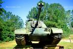 Tank, ww II, world war two, tracked vehicle, Camp Shelby, Mississippi, head-on, MYAV03P02_16