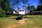 Grumman OV-1 Mohawk, Camp Shelby, Mississippi, head-on, MYAV03P03_01