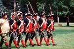 Revolutionary War, combat, battlefield, troops, uniforms, americana, soldiers, colonial, rifles, American Revolution, History, Historical, British Army, War of Independence, Infantry, soldiers, musket, gun, firepower, MYAV03P13_08