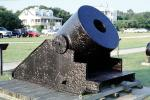 13 inch seacoast mortar, Artillery, Cannon, Morris Island, Civil War, coastal defense, coast