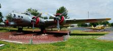 USAF, Boeing B-17G FlyingFortress, Castle Air Force Base, Merced, California, Panorama, MYFD01_001