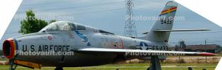 51-9433, Republic Aviation F-84F Thunderstreak, 9433, FS-433
