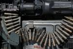 Bullets, Rounds, Pontiac M39 20mm Revolving Cannon, Gas Operated 5 Chamber Cylinder fired into a single Gun Bore