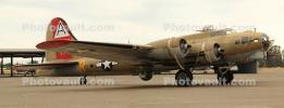 B-17G, spinning props, propellers, Nine-O-Nine, 42-31909, MYFD02_207