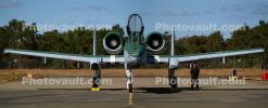 A-10 Warthog head-on, front view, MYFD04_037