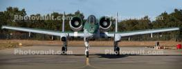 A-10 Warthog head-on, front view, MYFD04_038