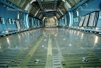 Cargo hold, inside, interior, Lockheed C-5 Galaxy, Abbotsford Airport