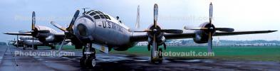 Boeing WB-50D Superfortress, Wright-Patterson Air Force Base, Fairborn, Ohio, Panorama, MYFV06P12_07B