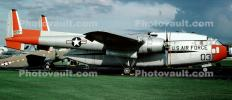 Fairchild C-119J Flying Boxcar, 18037, USAF 51-8037, Wright-Patterson Air Force Base, Fairborn, Ohio, MYFV07P03_09B