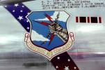 Strategic Air Command, SAC, emblem, Convair B-58A Hustler, shield, logo, insignia, lightning