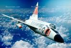 F-102A Delta Dagger, milestone of flight, 1950's, MYFV08P14_07