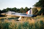 Gloster Javelin all-weather single engine jet fighter
