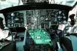 Cockpit, Instrument Panel, Dials, Flight Deck, Aviation, Avionics, Sikorsky SH-60 Blackhawk, MYFV14P14_07