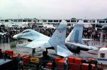 "389, MiG-29, ""Fulcrum"", Russian Jet Fighter Aircraft, Air Superiority, International Paris Air Show, Le Bourget, MYFV23P13_11"