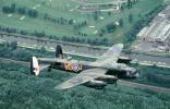 milestone of flight, Avro, 638 Lancaster, Airborne, Flying, MYFV26P13_13