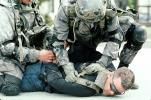 camouflage, warfare, war, arrest, Operation Kernel Blitz, urban warfare training