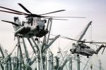 Ships, Sikorsky CH-53E Super Stallion, flight, flying, urban warfare training, Operation Kernel Blitz, MYMV02P05_01B