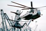 Ships, Sikorsky CH-53E Super Stallion, flight, flying, urban warfare training, Operation Kernel Blitz, MYMV02P05_02B