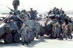 LAV-25, Wheeled Tanks, canon, Light Armored Vehicle, eight-wheeled amphibious reconnaissance vehicle, Operation Kernel Blitz, urban warfare training, Troops, MYMV02P08_05