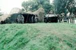 Bivouc, Tent, Camouflage, LAV-25, Wheeled Tanks, canon, vehicle, Operation Kernel Blitz, urban warfare training, Troops, MYMV02P10_02