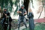 News Reporter, M16 Rifle, soldier, urban warfare training, Operation Kernel Blitz, Troops, MYMV02P14_07