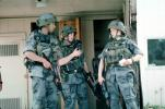M16 Rifle, soldiers, Operation Kernel Blitz, urban warfare training, Troops