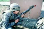 Operation Kernel Blitz, M16 Rifle, urban warfare training, Troops