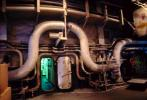 Pipes, Watertight Door, USS Coral Sea, CV-43, USN, United States Navy, Midway-class aircraft carrier, MYNV01P06_02.1701
