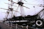 Boston Harbor, Charleston Navy Yard, Harbor, Rigging, Mast, USS Constitution, MYNV01P10_12.1701