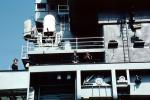 Phalanx Gattling Gun, Anti-Aircraft, AA, USS Kitty Hawk (CV-63), Phalanx CIWS, anti-aircraft, MYNV03P10_06