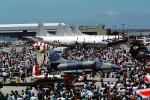 People, Crowds, Airshow, Lockheed P-3 Orion