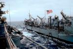 USS Kansas City, (AOR-3), Wichita Class Replenishment Oiler, unrep, USN, United States Navy, Ship