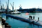 USS Topeka (SSN 754), Nuclear Powered Sub, American, Alameda Naval Air Station, USN, Los Angeles-class submarine, MYNV11P09_13