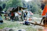 Camping with the Boy Scouts, Tents, Forest