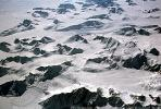 Glaciers, Mountains, Terrain, Ice Cap, Greenland, NCGV01P06_06B