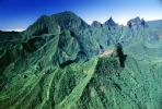 Mountains, Rain Forest, Island of Tahiti, NDPV01P07_10