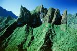 Island of Tahiti, Ragged Mountains