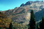 Fall Colors, Autumn, Mountain, Glacier National Park, NNMV01P04_07