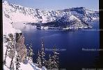 Wizard Island, Crater Lake National Park, water, NNOV01P01_14